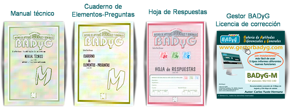 BADyG-M_Materiales