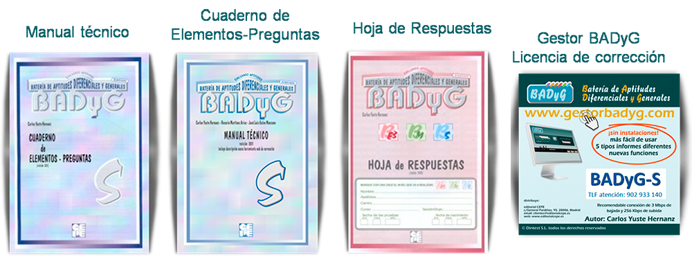 BADyG-S_Materiales